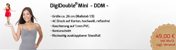 Digidouble Figur Mini