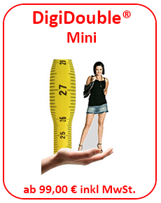 Digidouble Pappfigur Mini